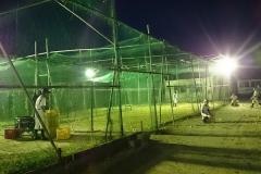 夜間練習広々ゲージ明るい照明